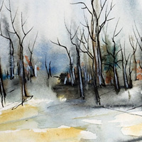 Watercolor paintings by Aniko Hencz